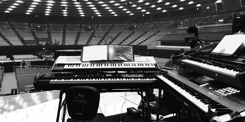 浜崎あゆみさんのライブサポート演奏