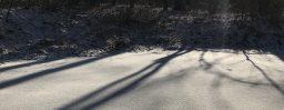 2月18日軽井沢。立春。魚上氷。